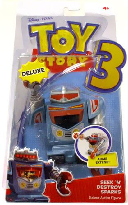 Toy Story 3 Deluxe Sparks Action Figure [Seek N Destroy]
