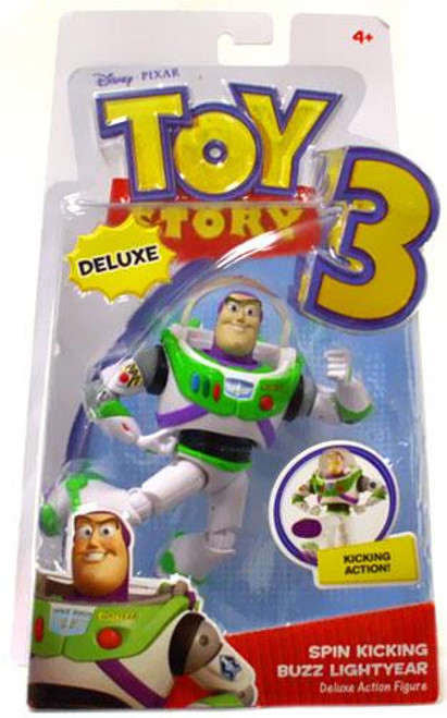 Toy Story 3 Deluxe Buzz Lightyear Action Figure [Spin Kicking]