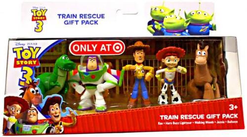 Toy Story 3 Train Rescue Exclusive PVC Figure Set