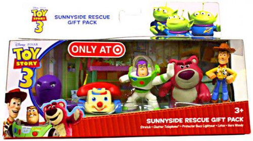 Toy Story 3 Sunnyside Rescue Exclusive PVC Figure Set