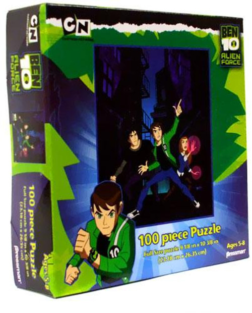 Ben 10 Alien Force Ben, Kevin 11 & Gwen Puzzle [100 pieces]