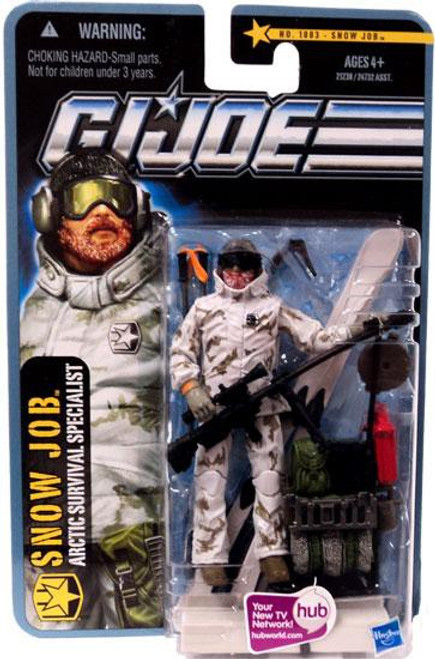 GI Joe Pursuit of Cobra Snow Job Action Figure