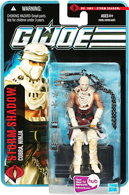 GI Joe Pursuit of Cobra Storm Shadow Action Figure [Desert Battle]