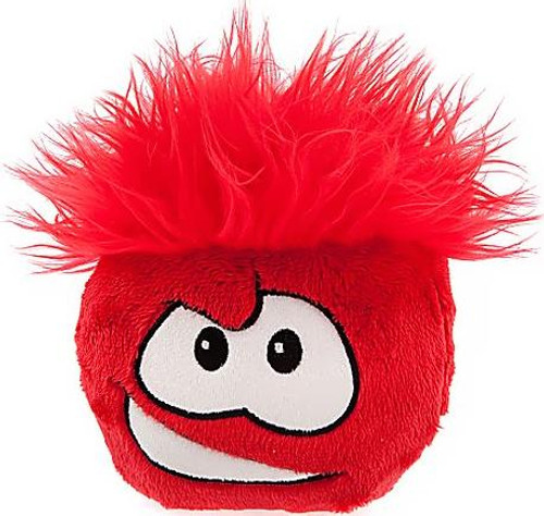 Club Penguin Red Puffle 6-Inch Plush