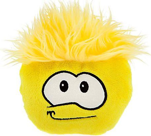 Club Penguin Yellow Puffle 6-Inch Plush