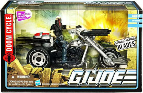 GI Joe Pursuit of Cobra Doom Cycle Action Figure Vehicle