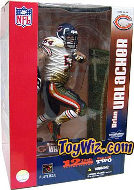 McFarlane Toys NFL Chicago Bears Sports Picks 12 Inch Deluxe Brian Urlacher Exclusive Action Figure [White Jersey Variant]