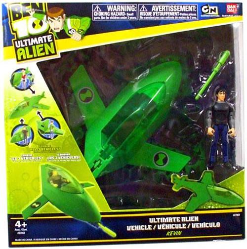 Ben 10 Ultimate Alien Rocket Pod Action Figure Vehicle
