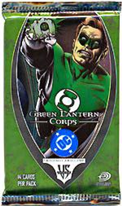 DC VS System Trading Card Game Green Lantern Corps Booster Pack