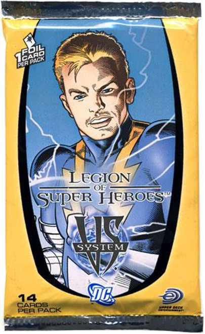 DC VS System Trading Card Game Legion of Super Heroes Booster Pack