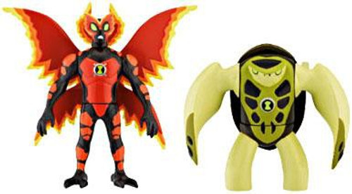 Ben 10 Alien Force Alien Creation Chamber Ultimate Big Chill & Terraspin Mini Figure 2-Pack