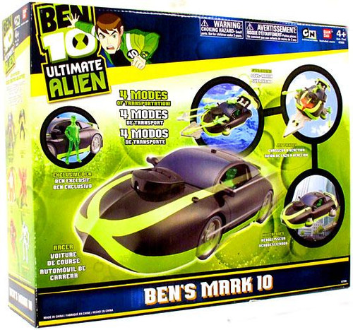 Ben 10 Ultimate Alien Ben's Mark 10 Exclusive Action Figure Vehicle