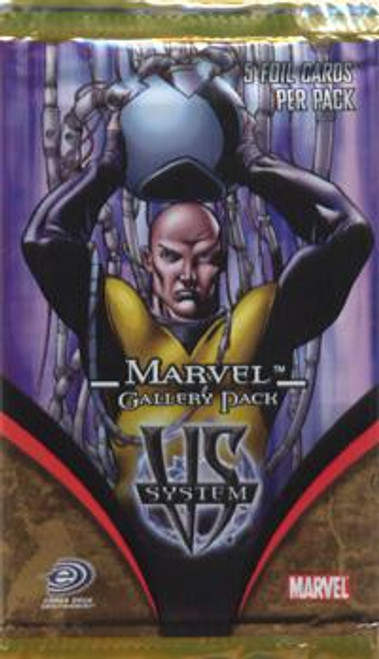Marvel VS System Trading Card Game Gallery Booster Pack
