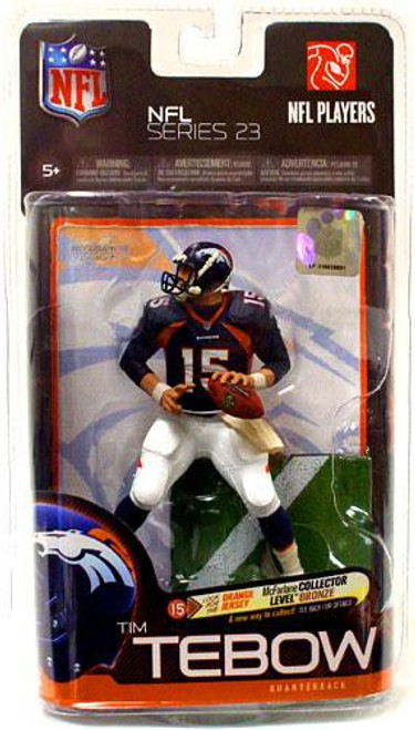 McFarlane Toys NFL Denver Broncos Sports Picks Series 23 Tim Tebow Action Figure [Blue Jersey]