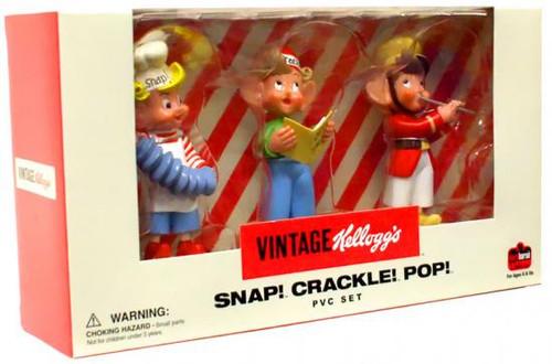 Kellogg's Snap! Crackle! Pop! PVC Figure Set