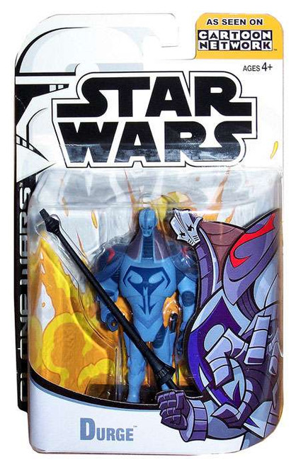 Star Wars The Clone Wars Clone Wars Cartoon Network Durge Action Figure