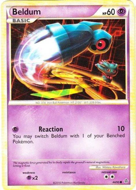 Pokemon HeartGold & Soulsilver Unleashed Common Beldum #44