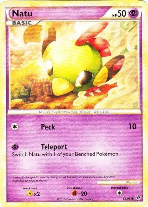 Pokemon HeartGold & Soulsilver Unleashed Common Natu #55
