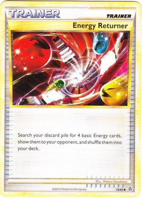 Pokemon HeartGold & Soulsilver Unleashed Uncommon Energy Returner #74