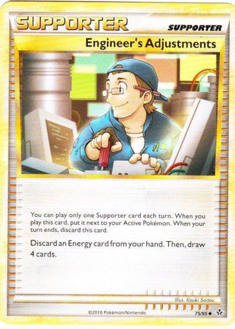 Pokemon HeartGold & Soulsilver Unleashed Uncommon Engineer's Adjustments #75