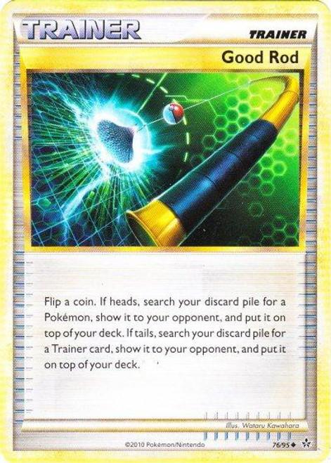 Pokemon HeartGold & Soulsilver Unleashed Uncommon Good Rod #76