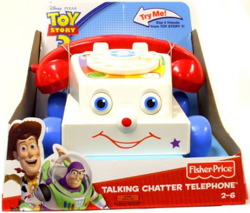 Fisher Price Toy Story 3 Talking Chatter Telephone