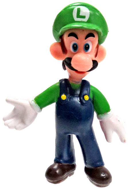 Super Mario Luigi 2-Inch Mini Figure [Loose]