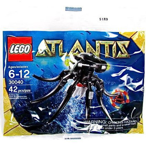LEGO Atlantis Octopus Exclusive Mini Set #30040 [Bagged]