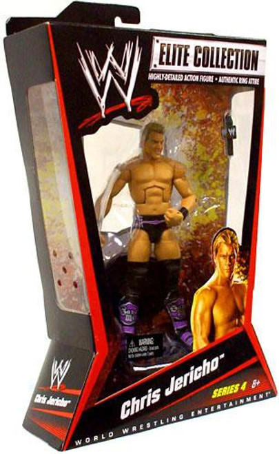 WWE Wrestling Elite Series 4 Chris Jericho Action Figure [Purple Boots]