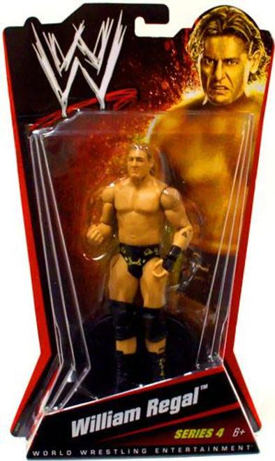 WWE Wrestling Series 4 William Regal Action Figure