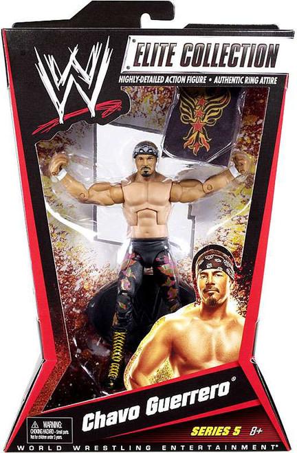 WWE Wrestling Elite Series 5 Chavo Guerrero Action Figure
