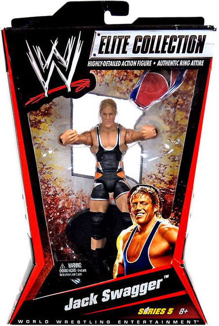 WWE Wrestling Elite Series 5 Jack Swagger Action Figure