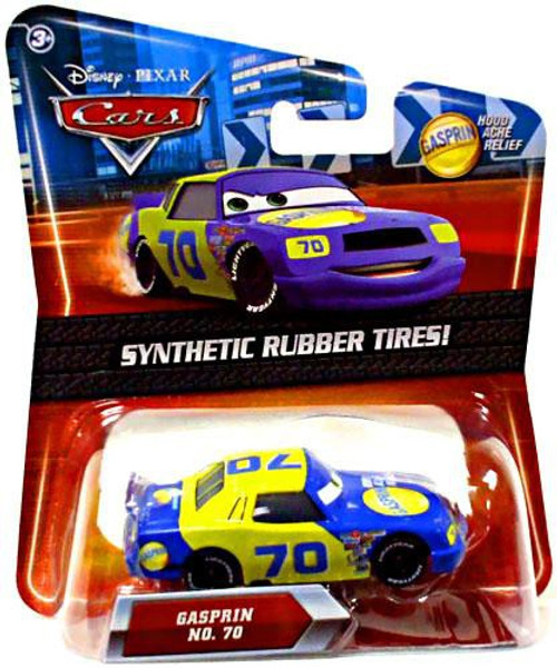 Disney Cars Synthetic Rubber Tires Gasprin Exclusive Diecast Car