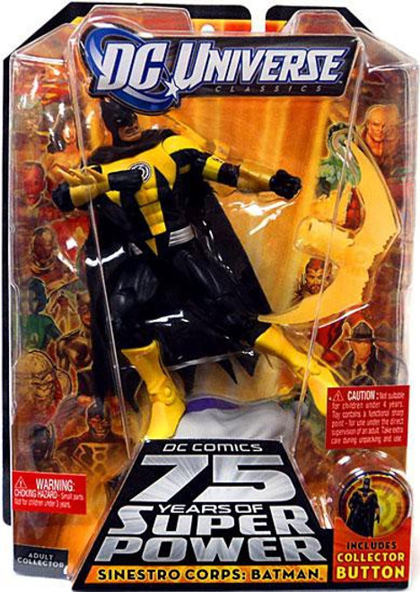 DC Universe 75 Years of Super Power Classics Sinestro Corps Batman Action Figure