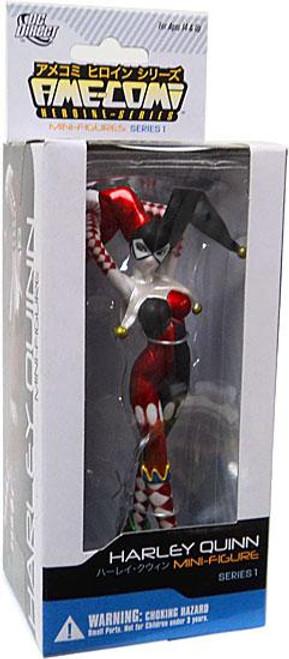 DC Ame-Comi Heroine Mini Figures Series 1 Harley Quinn PVC Mini Figure