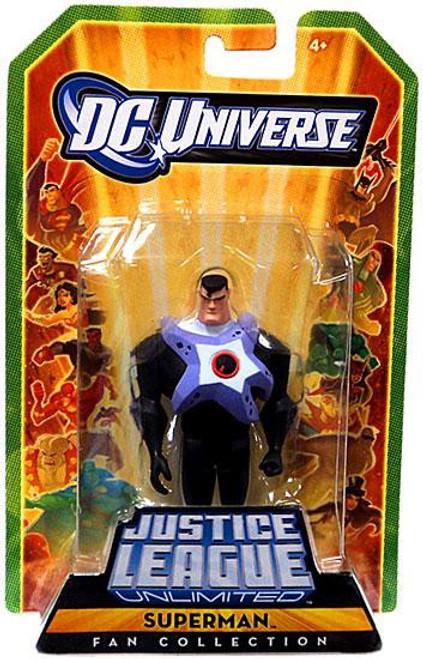 DC Universe Justice League Unlimited Fan Collection Superman Action Figure