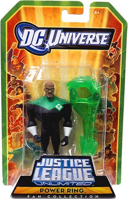 DC Universe Justice League Unlimited Fan Collection Power Ring Action Figure