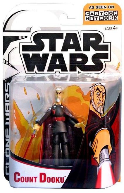 Star Wars The Clone Wars Clone Wars Cartoon Network Count Dooku Action Figure