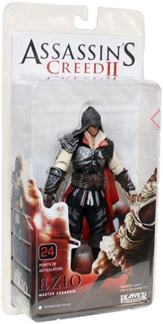 NECA Assassin's Creed II Series 1 Ezio Action Figure [Master Assassin, Damaged Package]
