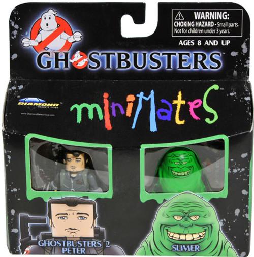 Ghostbusters 2 Peter Venkman & Slimer Minifigure 2-Pack