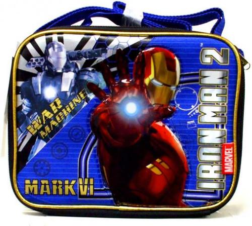 Iron Man 2 War Machine & Mark VI Iron Man Lunch Tote Lunch Tote