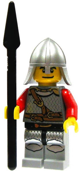 LEGO Castle Loose Lion Spearman Minifigure [Loose]