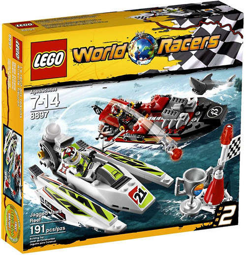 LEGO World Racers Jagged Jaw Reef Set #8897