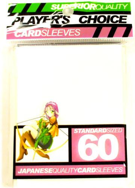Card Supplies White Standard Card Sleeves [60 ct]