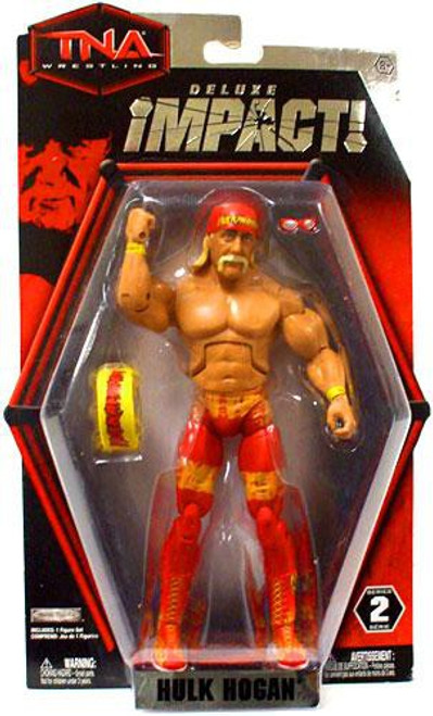 TNA Wrestling Deluxe Impact Series 2 Hulk Hogan Action Figure