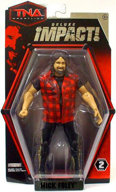 TNA Wrestling Deluxe Impact Series 2 Mick Foley Action Figure