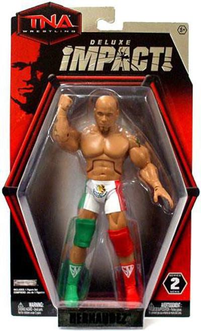 TNA Wrestling Deluxe Impact Series 2 Hernandez Action Figure