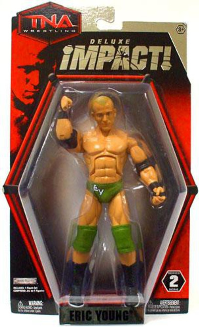 TNA Wrestling Deluxe Impact Series 2 Eric Young Action Figure
