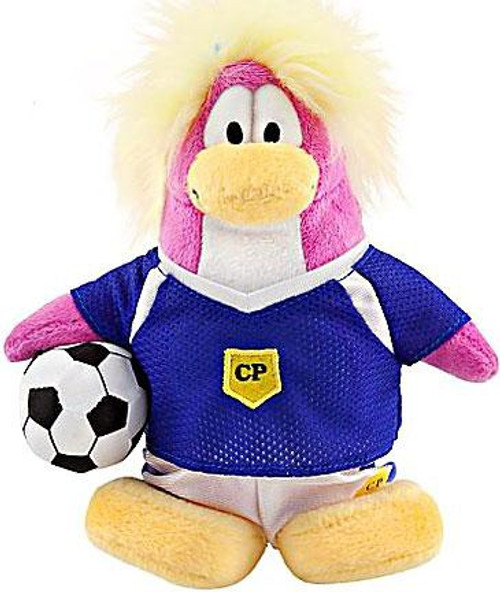Club Penguin Series 8 Girl Soccer Player 6.5-Inch Plush Figure