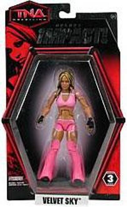 TNA Wrestling Deluxe Impact Series 3 Velvet Sky Action Figure
